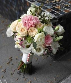 Bridal Bouquet: Bridal love $100