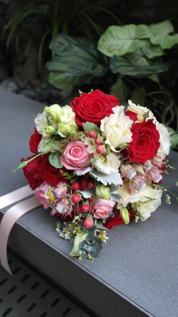 Bridal Bouquet: Sweet Love $120